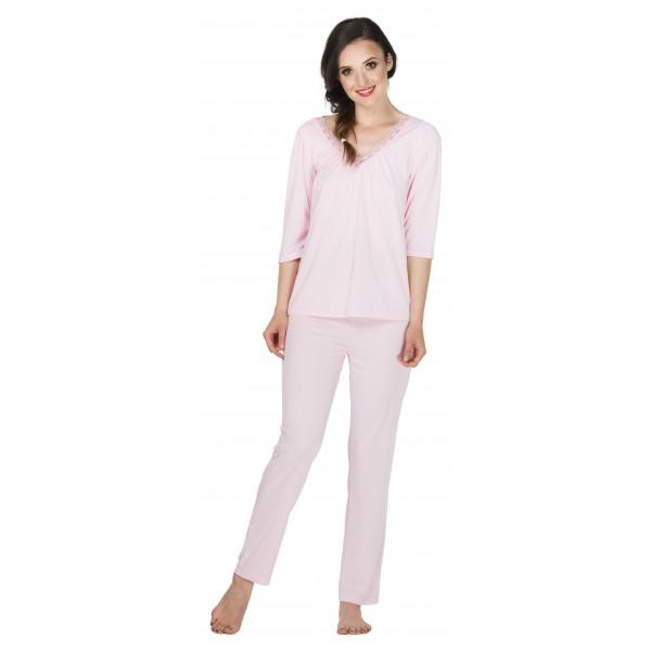 Vivien jedwabna piżama damska