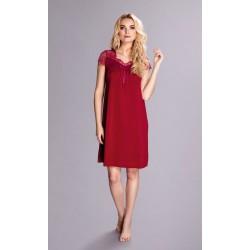 Elegancka koszula nocna Dolce Vino 6279 w burgundowym kolorze