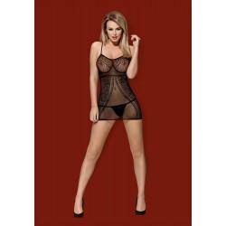 Sukienki erotyczne D225 czarna