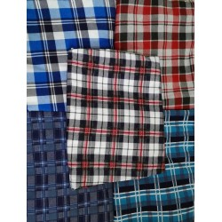 Spodnie do piżamy męskie Krata