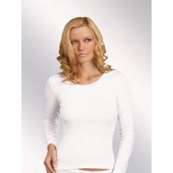 Prosta koszulka damska Irene długi rękaw