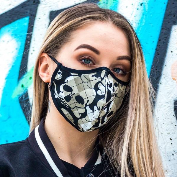 Maska ochronna młodzieżowa czaszki