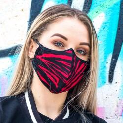 Maska ochronna czerwony tygrysek młodzieżowa