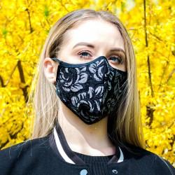 Maska ochronna Koronka1 elegancka
