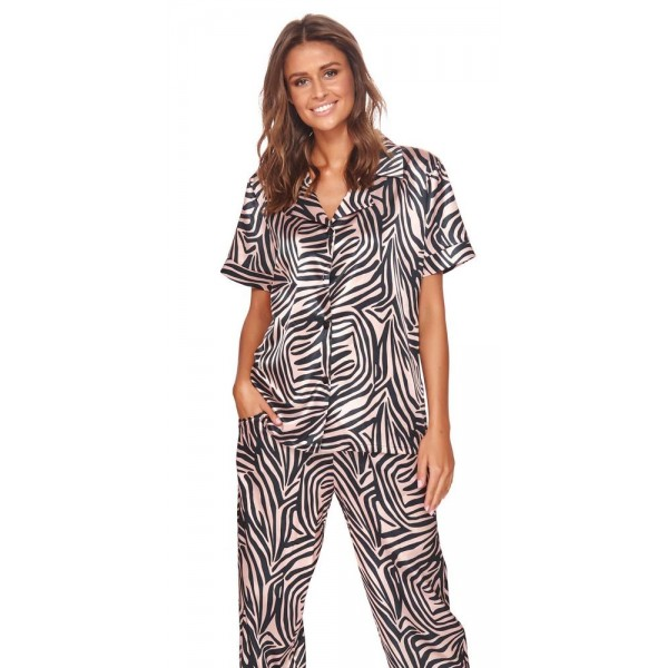 Piżama damska Zebra Mono