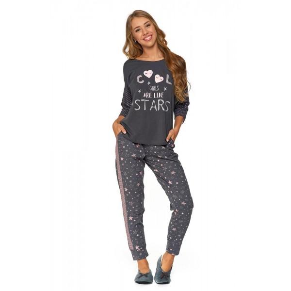 Piżama damska PDD 3400 Grafit