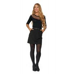 Spódnica damska z Paskiem SD200 Black