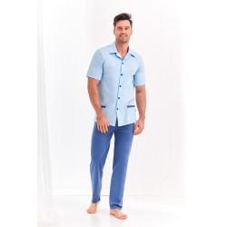 Piżama męska Feliź 2XL niebieska