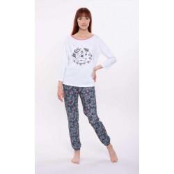 Piżama damska bawełna 3-4 rękaw