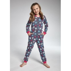 KOMBINEZON GIRL DR 106/104 OWL 2